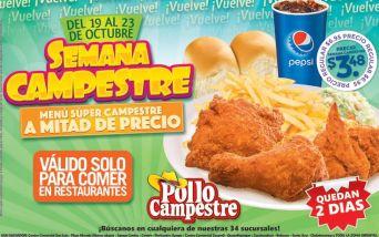 Semana de promocion POLLO CAMPESTRe el salvador - 22oct15