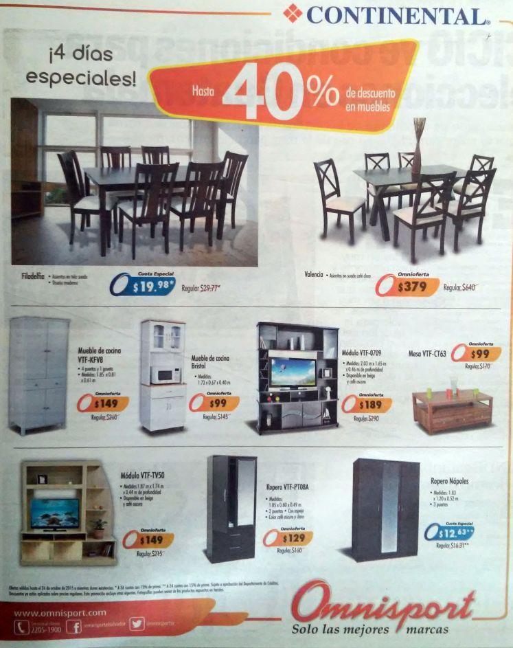 Todos los muebles que desea tu nueva casa