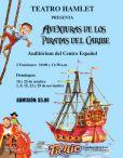 for kids TEATRO Aventuras de los piratas del caribe