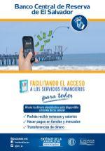 nuevo facilidad y acceso a serivios financieros via BCR el salvador