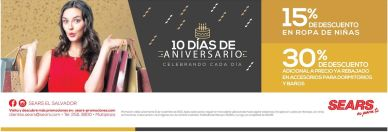 10 dias de aniversario celebrando con SEARS - 06nov15