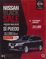 All november 2015 NISSAN BLACK sale