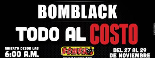 BOMBA black todo al costo todito