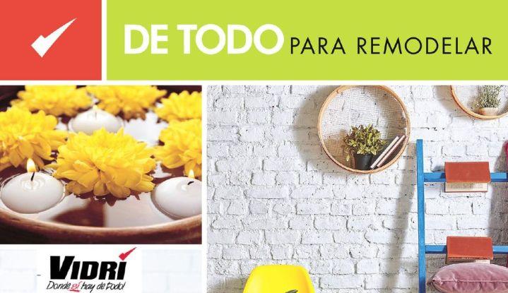 Catalogo ferreteria VIDRI DE TODO para remodelar