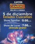 Cuando son las LUCES Pollo Campero 2015 - Diciembre 05
