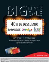 Davivienda con 40 OFF en tiendas BEBE MUNDO JUGUETON and Park avenue