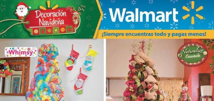 Decoracion navideña 2015 guia de compras WALMART el salvador