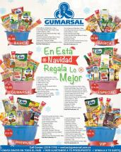 GUMARSAL presenta sus canastas navideñas 2015