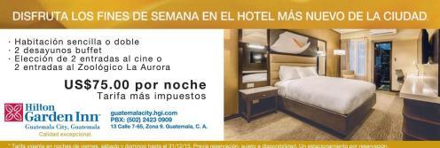 Hotel HILTON garden inn guatemala