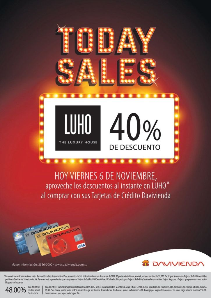 LUHO the luxory house 40 OFF discount TODAY SALE