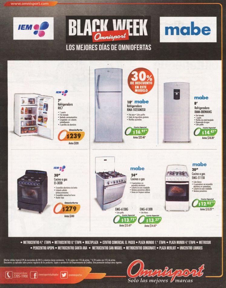 Los mejores precios en electrodomesticos este proximo VIERNES negro 2015
