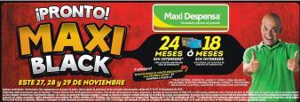 MUY Pronto en supermercados MAXI BLACK 2015