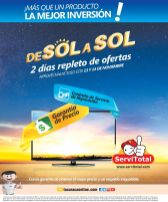 Ofertas de SOL a SOL 2 dias repletos de ofertas 13 y 14 de nov 2015