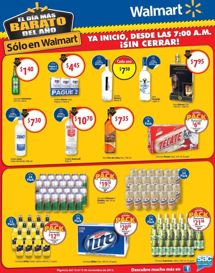 SIN CERRAR los mejores pallets pack de ofertas WALMART