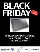 Tabet GRATIS black friday ALCATEL LUCENT central telefonica