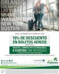 Tus destinos en estados unidos con 15 off gracias BANCO PROMERICA