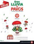 VUELVE esta navidad 2015 gran lluvia de PAVOS