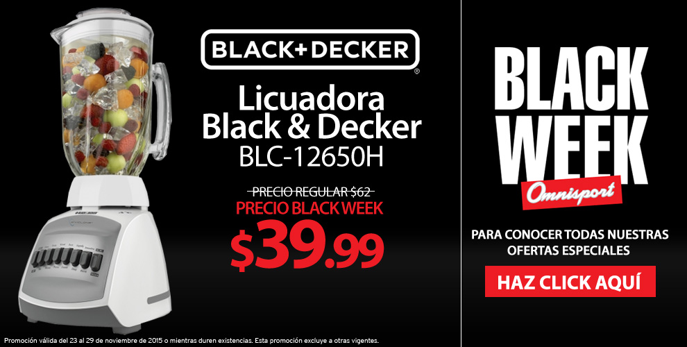 Enseres de cocina black and decker black week 2015 for Enseres para cocina
