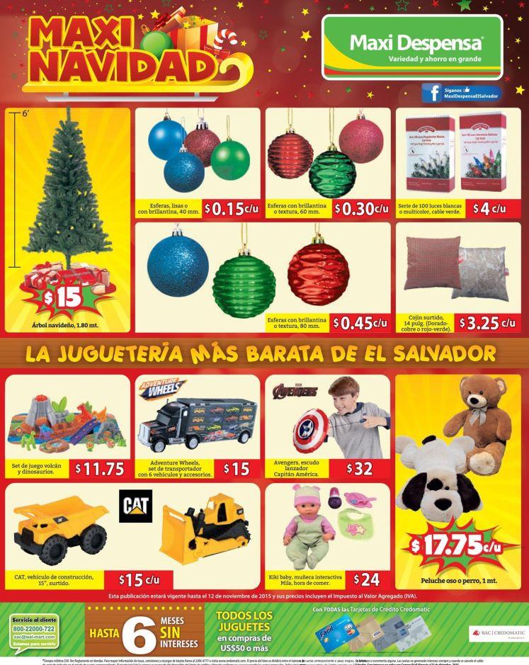 la jugueteria mas barata de el salvador MAXI DESPENSA 2015