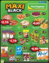 venite a tu MAXI BLACK supermercado con ofertas en productos basicos