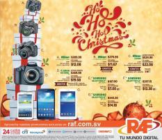 Apresurate RAF tiene precios hot en sus productos esta navidad