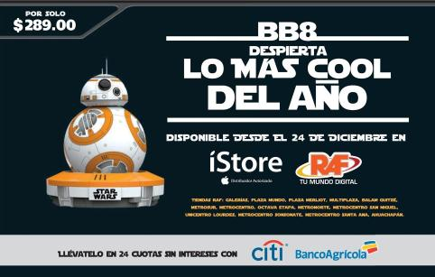 BB8 robot chracter star wars awken the force