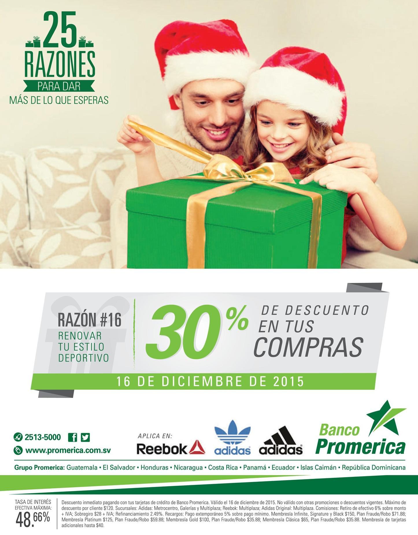 Banco Promerica Ahora tenes 30 off en tus compras de articulos deportivos