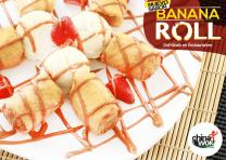 CHINAWOK nuevo sabor de postre BANANA ROLL
