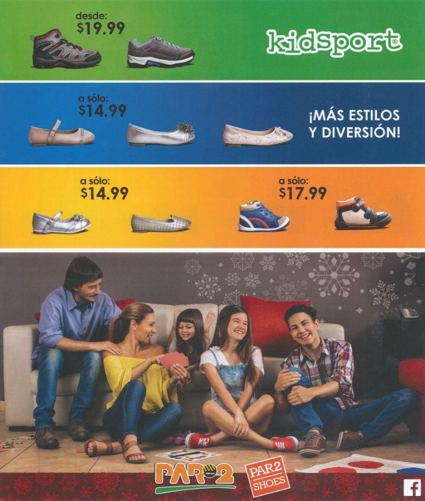 Calzado PAR2 el salvador estilos de navidad 2015 for kids