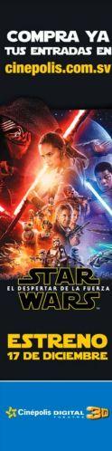Como ver estreno STAR WARS 2015 en cinepolis