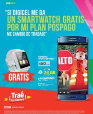 DIGICEL te trae gratis SMART WATCH