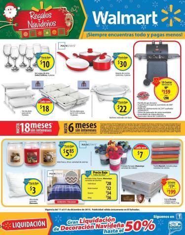Equipa tu cocina en navidad con WALMART y sus ofertas