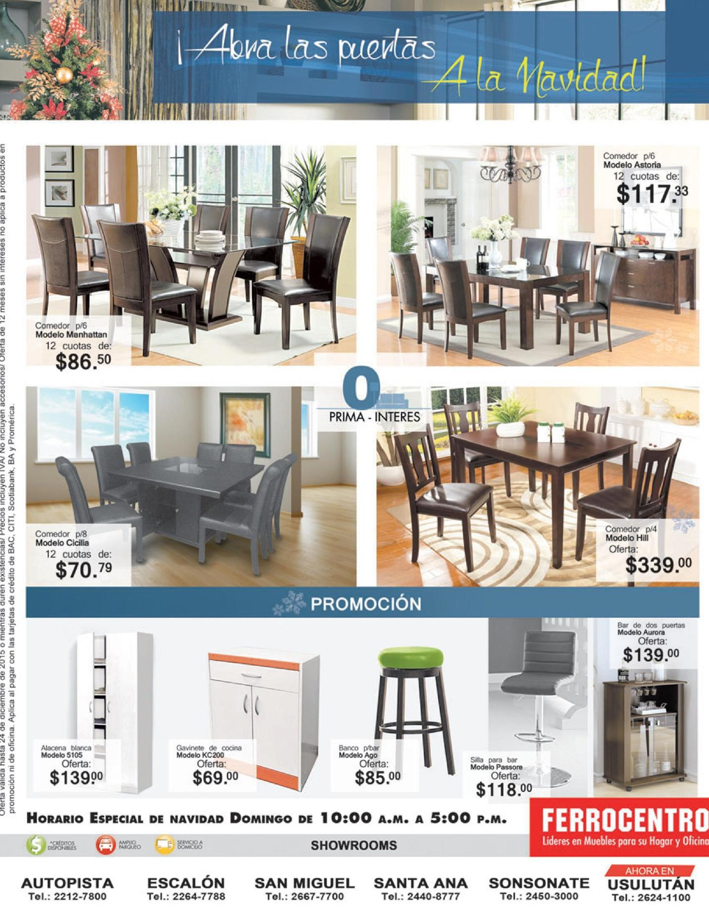 FERROCENTRO exclusive furniture products for this season