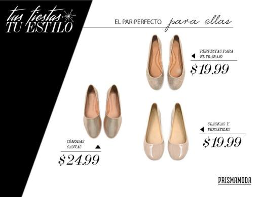FLAT shoes for her perfect comfort