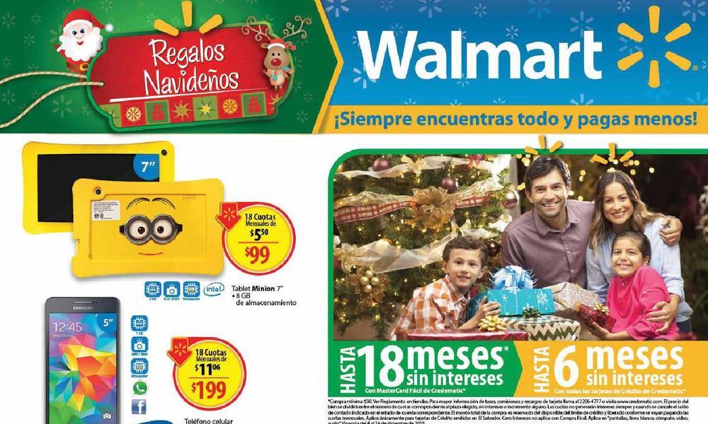 Guia de compras 17 de walmart el salvador DIC15
