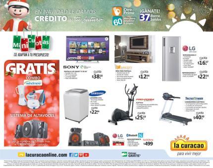 LA CURACAO regalos con CREDITO para navidad 2015
