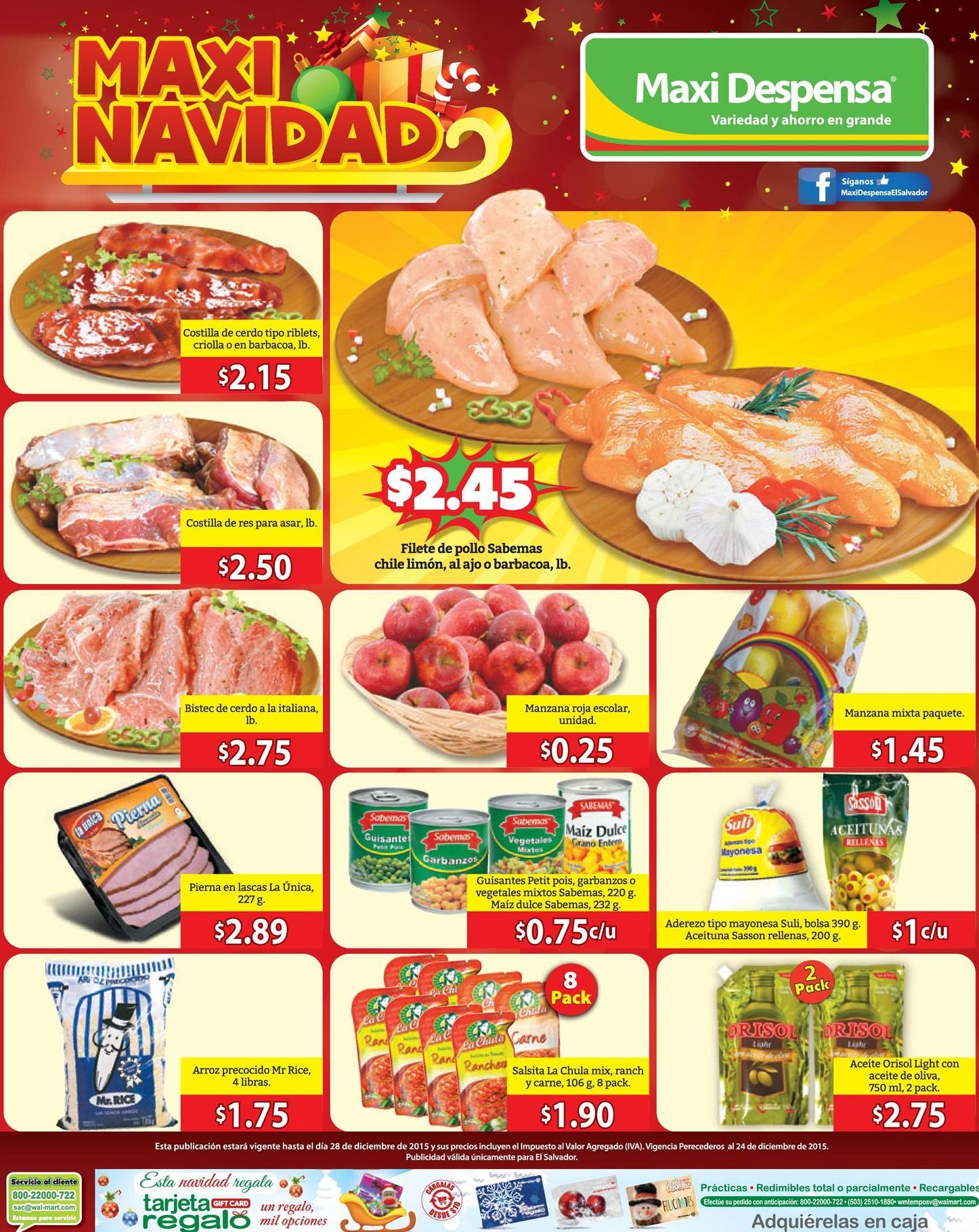 MAXI DESPENSA Adquiere productos frescos en navidad - 21dic15