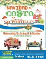 Navidad al costo en comercial portillo ahora viernes - 18dic15
