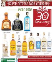 Ofertas de licores DESCUENTO 30 off en TEQUILAS
