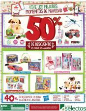 SUPER SELECTOS juguetes con 50 off este fin de semana - 19dic15