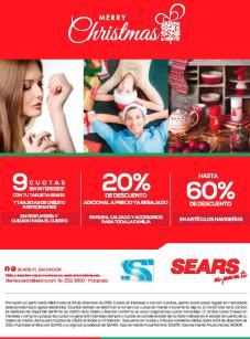 SeARS holidays season promotions 2015