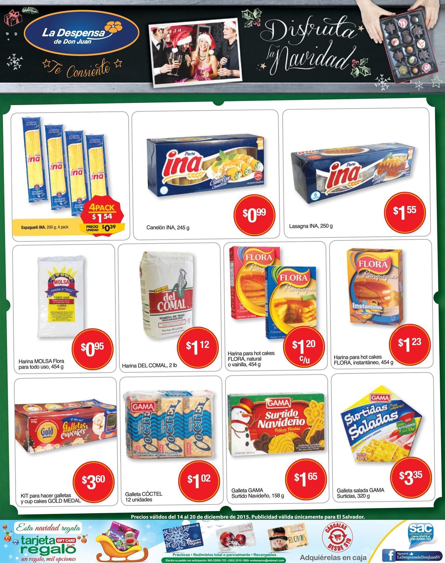 Semana de ofertas navideñas la despensa - 14dic15