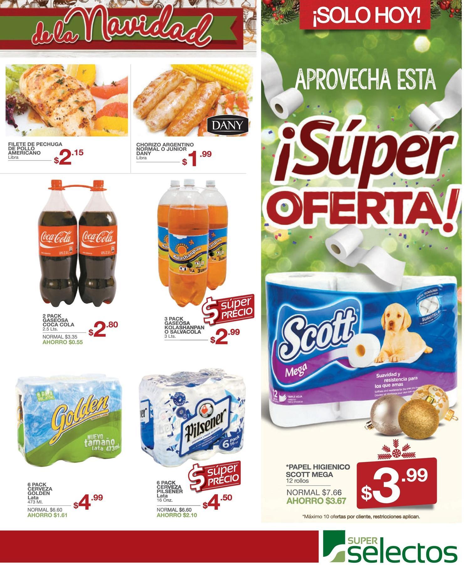 Super ofertas en papel higienico scott ahora - 17dic15