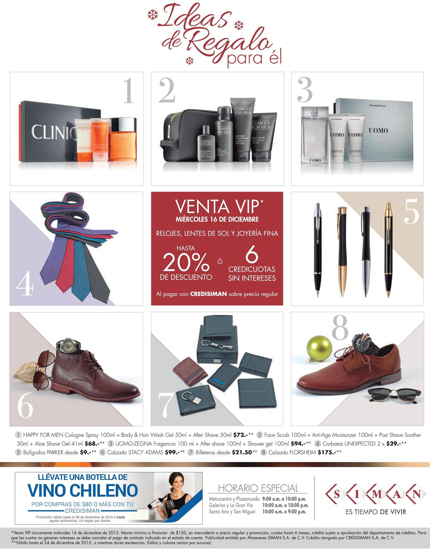 VENTA VIP for holidays gift by SIMAN