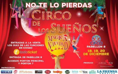 circo de los suenos en magica navidad 2015