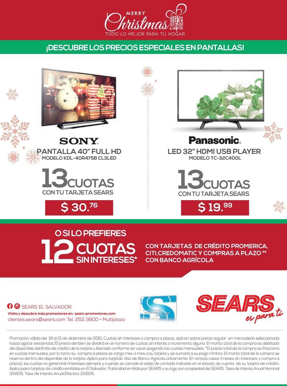 pantallas SONY en ofertas buscalas en almacen sears