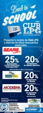 Back to school promotions con tu suscripcion LPG