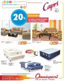 CAPRI camas y salas con 20 off almacenes OMNISPORT - 29ene16