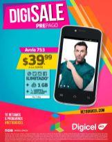 DIGICEL telefonos prepago baratos en paquete
