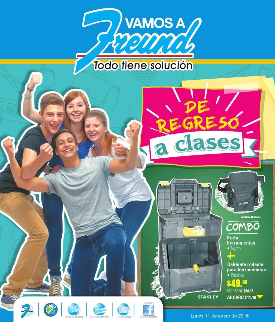 FREUND te ofrece productos de regreso a clases 2016